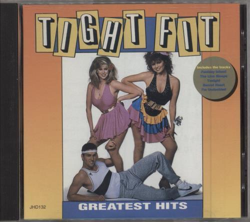 Tight Fit Greatest Hits CD album (CDLP) UK TGFCDGR735623