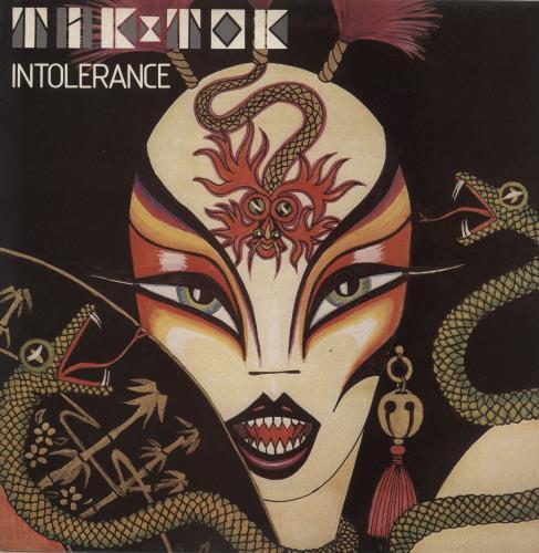 Tik & Tok Intolerance picture disc LP (vinyl picture disc album) UK TOKPDIN732476