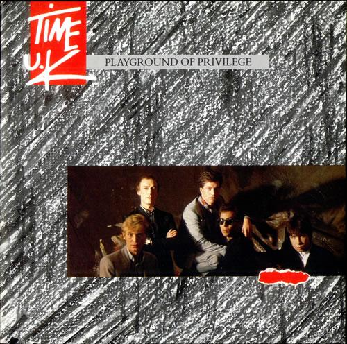 "Time UK Playground Of Privilege 7"" vinyl single (7 inch record) UK TUK07PL106922"