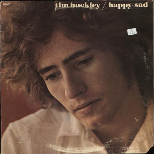 Tim Buckley Happy Sad vinyl LP album (LP record) US TBKLPHA767879