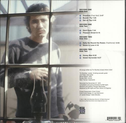 Tim Buckley Honeyman, Recorded Live 1973 - Honey Vinyl - Sealed 2-LP vinyl record set (Double Album) UK TBK2LHO726442