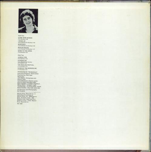 Tim Buckley Starsailor - Pitman Pressing vinyl LP album (LP record) US TBKLPST769278