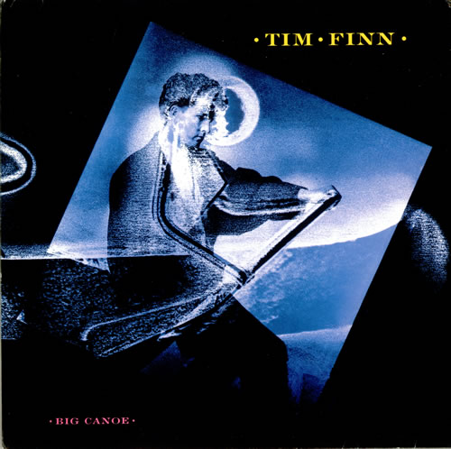 Tim Finn Big Canoe vinyl LP album (LP record) UK TFNLPBI59636