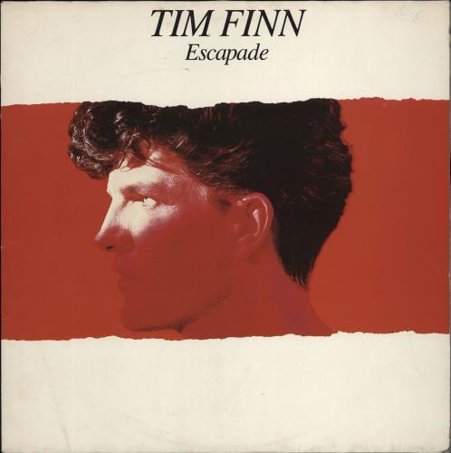 Tim Finn Escapade vinyl LP album (LP record) Dutch TFNLPES766852