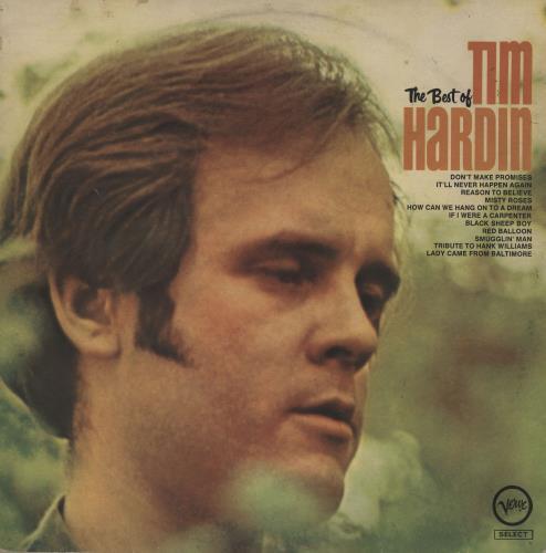 Tim Hardin The Best Of Uk Vinyl Lp Album Lp Record 543491