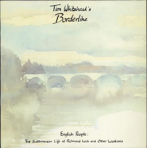 Tim Whitehead English People: The Subterranean Life At Richmond Lock And Other Locations vinyl LP album (LP record) UK UXGLPEN770441
