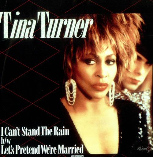 "Tina Turner I Can't Stand The Rain 7"" vinyl single (7 inch record) UK TUR07IC521522"