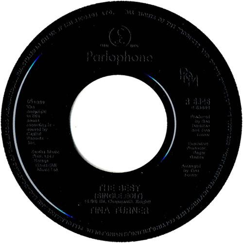 "Tina Turner I Don't Wanna Fight - Black Jukebox 7"" vinyl single (7 inch record) UK TUR07ID189304"