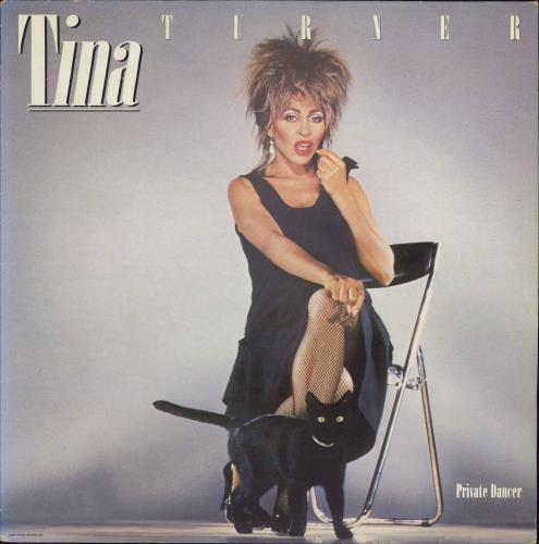 Tina Turner Private Dancer vinyl LP album (LP record) UK TURLPPR189575