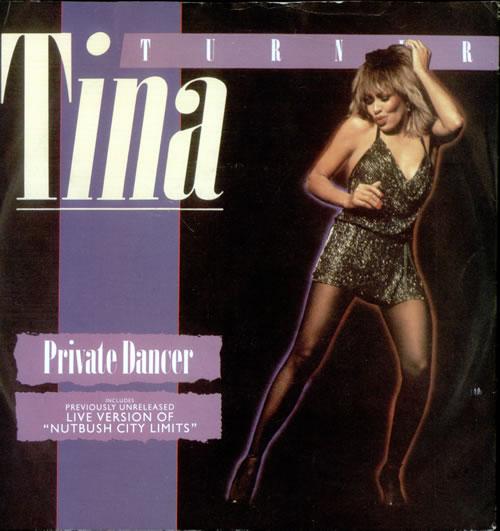 """Tina Turner Private Dancer 7"""" vinyl single (7 inch record) UK TUR07PR521530"""