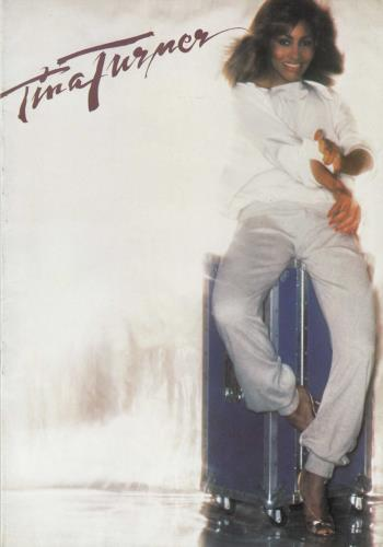 Tina Turner Rough tour programme UK TURTRRO738861