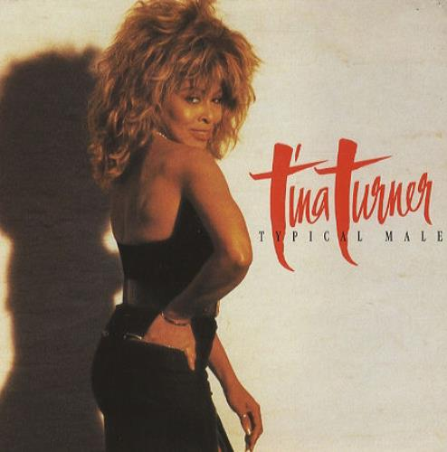 """Tina Turner Typical Male 7"""" vinyl single (7 inch record) UK TUR07TY193629"""