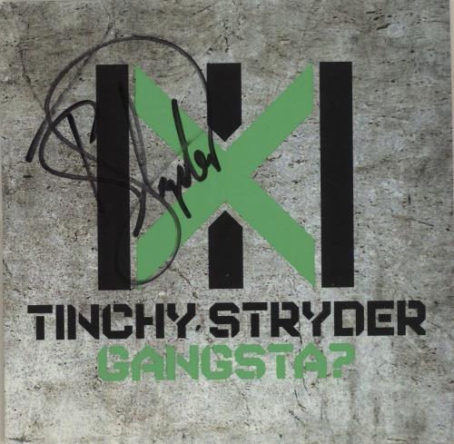 "Tinchy Stryder Gangsta? - Autographed CD single (CD5 / 5"") UK VS3C5GA684062"