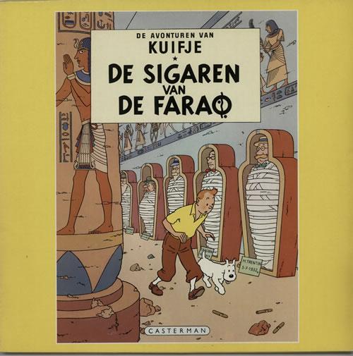 Tintin De Sigaren Van De Farao vinyl LP album (LP record) Dutch W-WLPDE627795