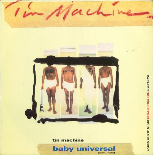"Tin Machine Baby Universal 12"" vinyl single (12 inch record / Maxi-single) UK TIN12BA45508"