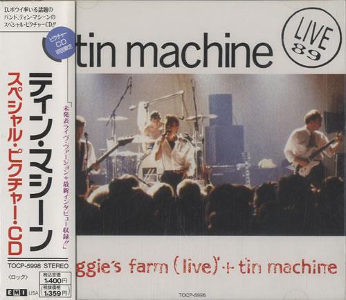Tin Machine Maggie's Farm - sealed CD album (CDLP) Japanese TINCDMA247584
