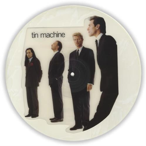 Tin Machine Maggie's Farm uncut picture disc (vinyl) UK TINUNMA10611