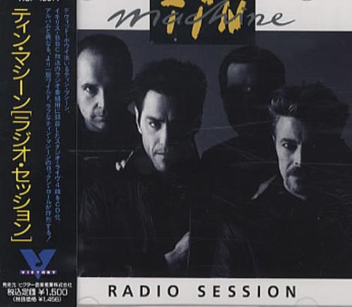 "Tin Machine Radio Session CD single (CD5 / 5"") Japanese TINC5RA02349"