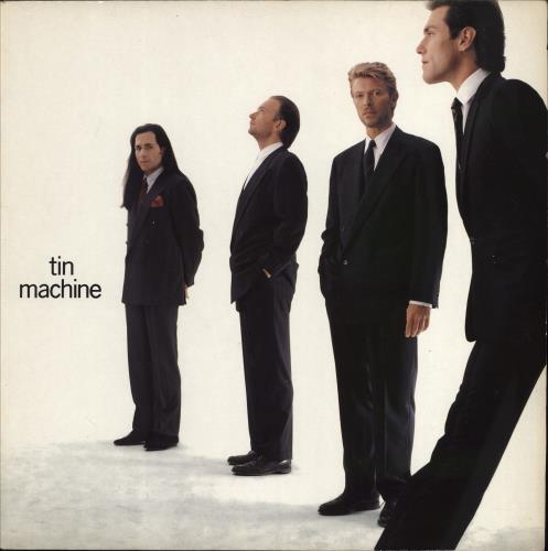 Tin Machine Tin Machine - EX vinyl LP album (LP record) UK TINLPTI634527