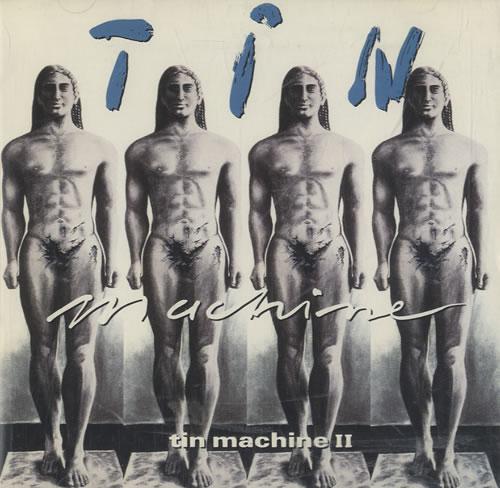 Tin Machine Tin Machine II - Censored Sleeve CD album (CDLP) US TINCDTI44964