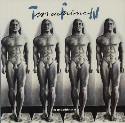 Tin Machine Tin Machine II vinyl LP album (LP record) UK TINLPTI592488