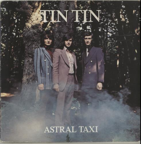 Tin Tin Astral Taxi vinyl LP album (LP record) UK TT1LPAS318941