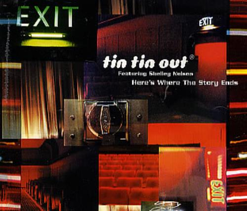 """Tin Tin Out Here's Where The Story Ends CD single (CD5 / 5"""") UK TTOC5HE288007"""