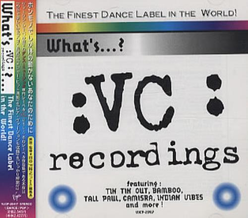 Tin Tin Out What's :VC:...? The Finest Dance Label In The World! CD album (CDLP) Japanese TTOCDWH322490