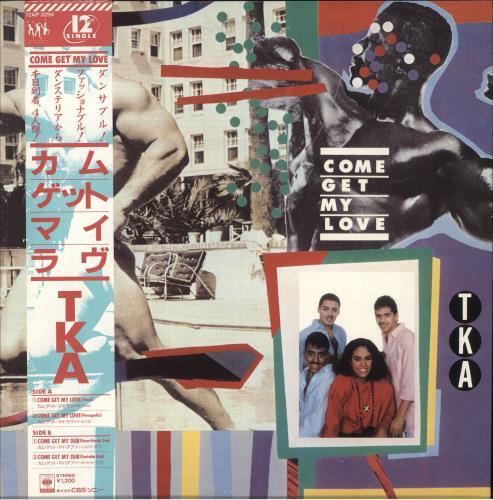 "TKA Come Get My Love 12"" vinyl single (12 inch record / Maxi-single) Japanese XKA12CO740733"