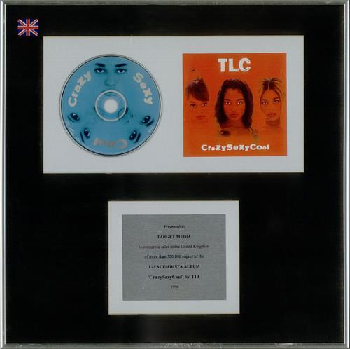 TLC CrazySexyCool in-house award disc UK TLCAICR530358