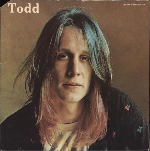 Todd Rundgren Todd + Poster 2-LP vinyl record set (Double Album) US TOD2LTO449059