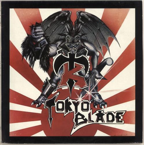 Tokyo Blade Tokyo Blade vinyl LP album (LP record) UK TKBLPTO725611