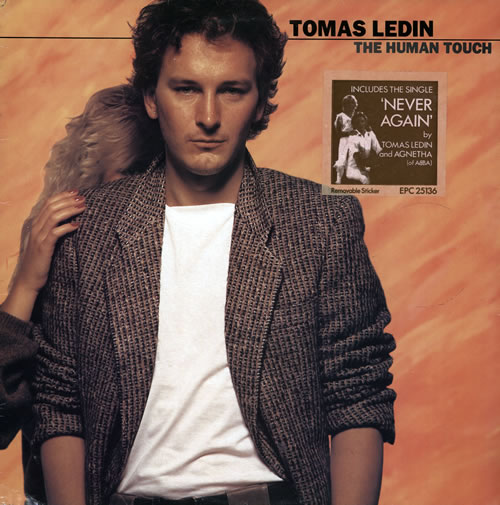 Tomas Ledin The Human Touch vinyl LP album (LP record) UK TLILPTH86263