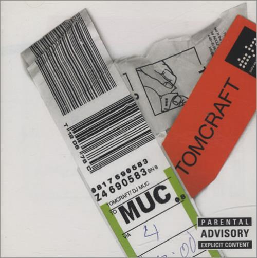 Tomcraft Muc CD album (CDLP) UK T/CCDMU434597