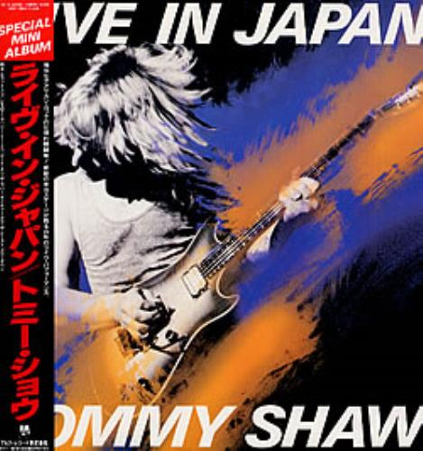 Tommy Shaw Live In Japan vinyl LP album (LP record) Japanese WYTLPLI250209