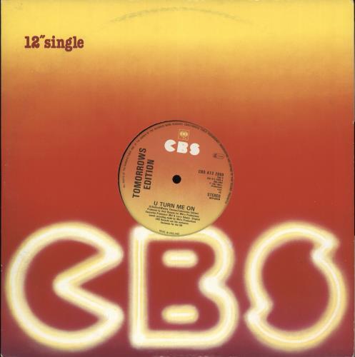 "Tomorrow's Edition U Turn Me On 12"" vinyl single (12 inch record / Maxi-single) UK Y7P12UT711008"