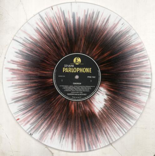 Tomorrow Tomorrow - 140gm - Splatter vinyl LP album (LP record) UK RRWLPTO707156