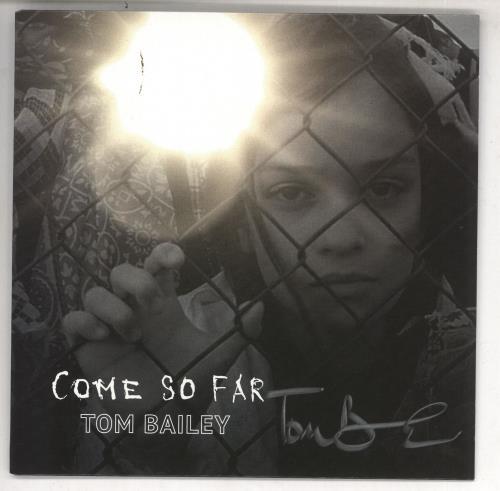 "Tom Bailey Come So Far - Red vinyl - Autographed 7"" vinyl single (7 inch record) UK Y5307CO731515"