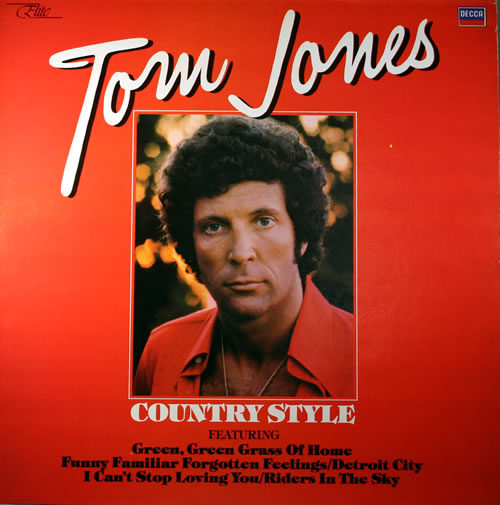 Tom Jones Country Style Uk Vinyl Lp Album Lp Record 564212
