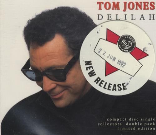 Tom Jones Delilah UK CD single (CD5 / 5