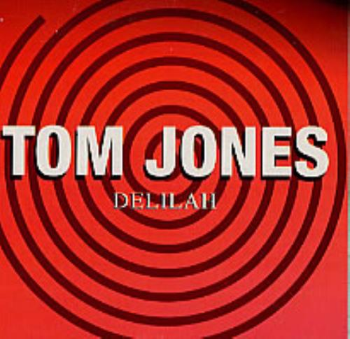 "Tom Jones Delilah CD single (CD5 / 5"") Spanish TJOC5DE170789"