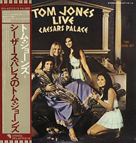 Tom Jones Live At Caesar S Palace Japanese Promo 2 Lp