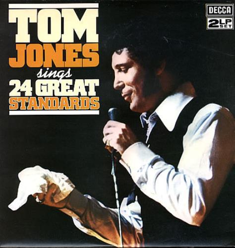 Tom Jones Sings 24 Great Standards 2-LP vinyl record set (Double Album) UK TJO2LSI363384