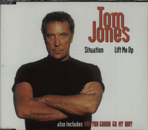 "Tom Jones Situation/Lift Me Up CD single (CD5 / 5"") Australian TJOC5SI667385"