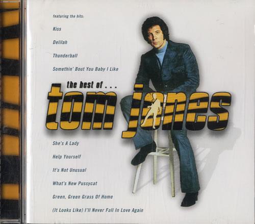 Tom Jones The Best Of... CD album (CDLP) UK TJOCDTH587531