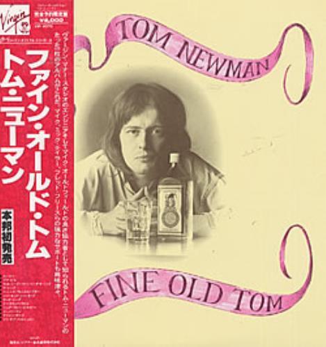 Tom Newman Fine Old Tom vinyl LP album (LP record) Japanese T-NLPFI217223