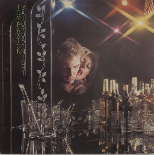 Tom Paxton Saturday Night vinyl LP album (LP record) UK TPXLPSA658820