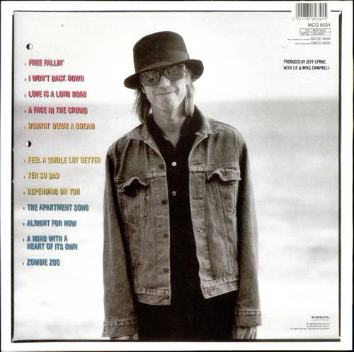Tom Petty Amp The Heartbreakers Full Moon Fever Uk Vinyl Lp
