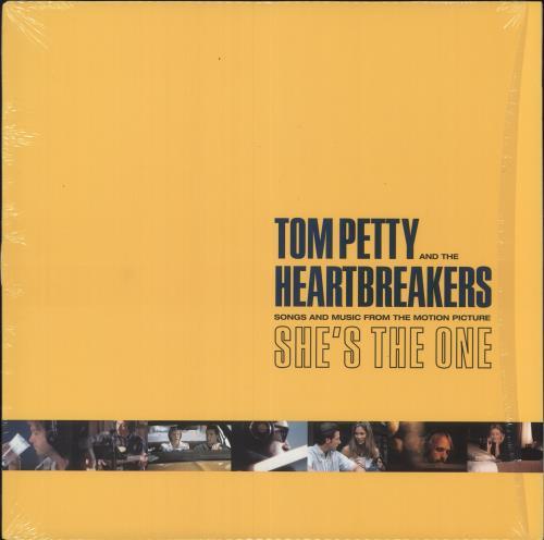 Tom Petty & The Heartbreakers She's The One vinyl LP album (LP record) US PETLPSH745216