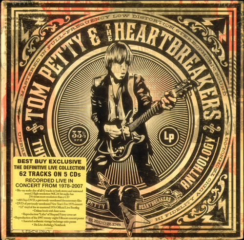 Tom Petty & The Heartbreakers The Live Anthology - Sealed box set US PETBXTH533346